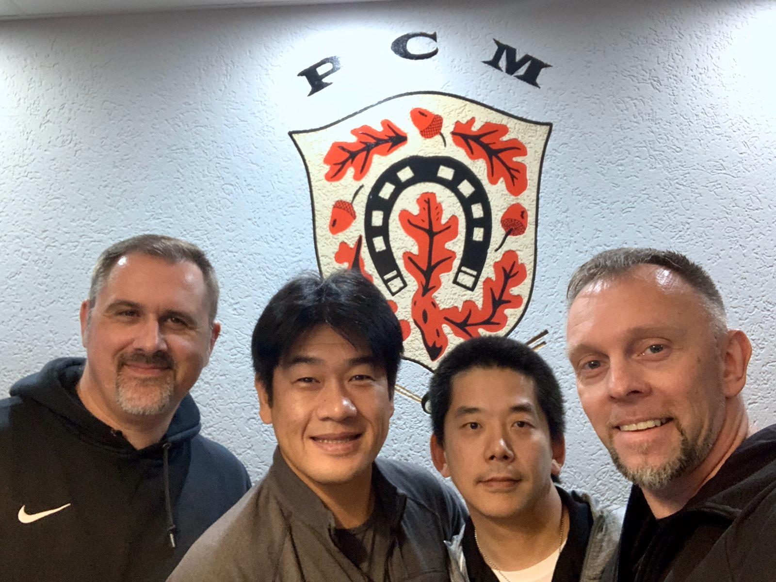 Besuch aus Japan zu Gast beim BV Mörfelden-Walldorf
